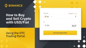 Binance BTC-EUR Exchangebörse
