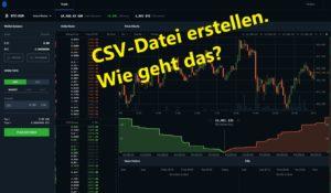 Read more about the article Coinbase Pro | Steuern und Statement anzeigen lassen als csv-Datei