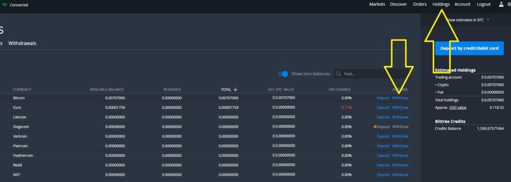 exchange-bittrex-withdraw-auszahlen