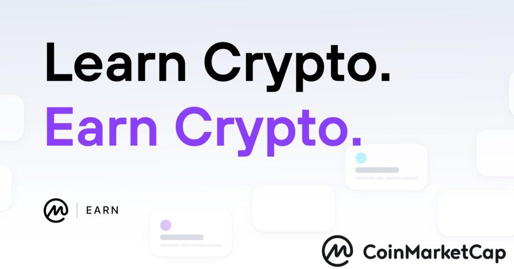 CoinMarketCap | Earn Programm | kostenlose Kryptos verdienen