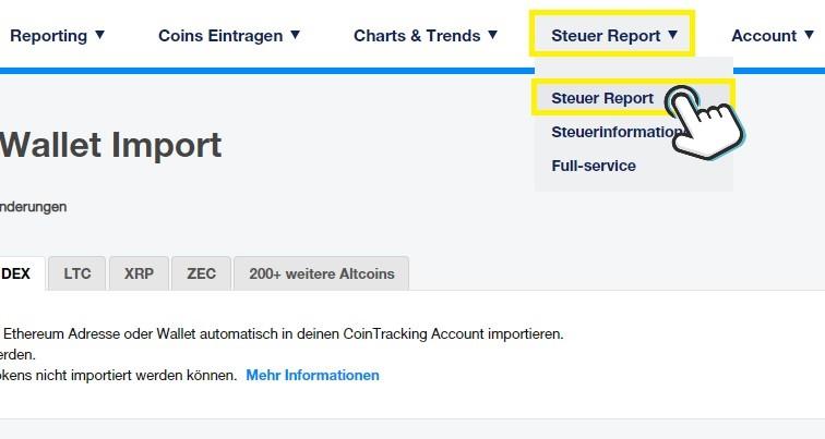 cointracking-steuer-report-erstellen