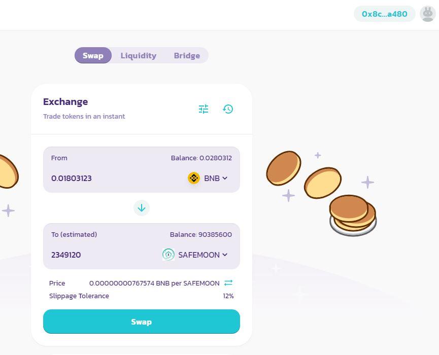 pancakeswap-safemoon-traden-handeln-kaufen-bnb