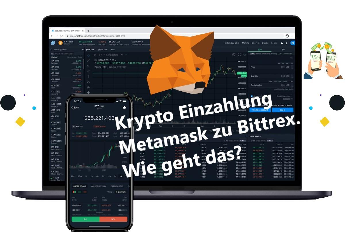 Read more about the article Bittrex: Kryptowährungen einzahlen von MetaMask. wie geht das?